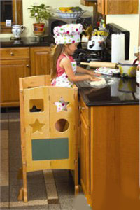 Kitchen Helper Stool - Out of Stock