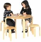 Nordic Table & Stool Set