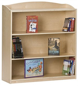 "Single-Sided Bookcase 60"" High"