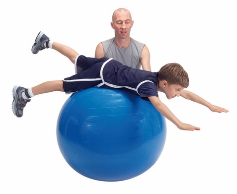 "Gymnic Classic 38"" Blue Therapy Ball"