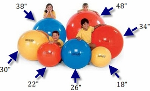 gymnic ball inflation instructions