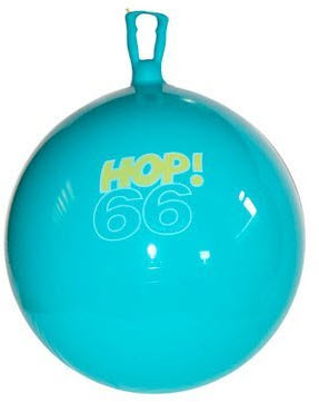 Gymnic Turquoise Hop 66 Hopping Ball