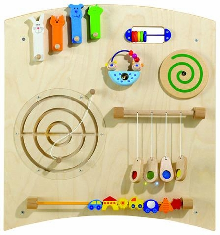 Haba Center Panel Learning Wall Toy