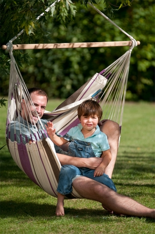 La Siesta Hammock Chair Basic Caribe�a Purple