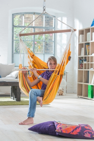 La Siesta Apricot Currambera Basic Hammock Chair