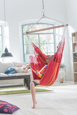 La Siesta Cherry Currambera Basic Hammock Chair