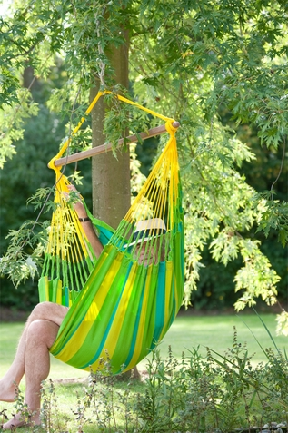 La Siesta Hammock Chair Basic Sonrisa Lime