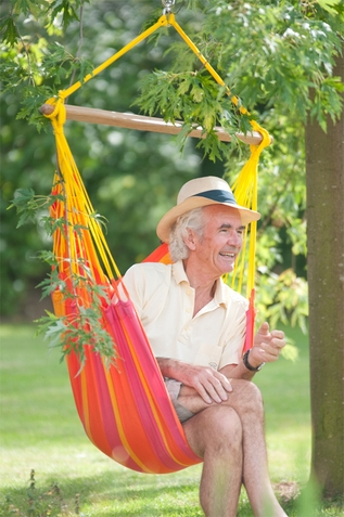 Hammock Chair Basic Sonrisa Mandarine - Free Shipping
