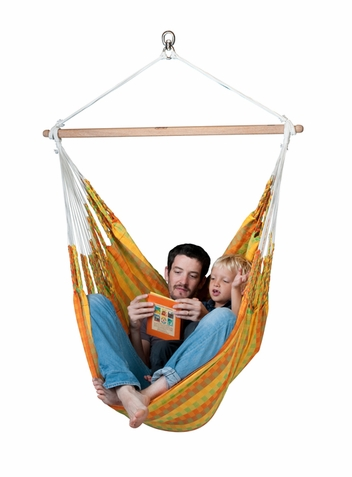 La Siesta Hammock Chair Large Carolina Citrus