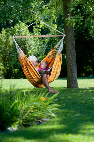 Hammock Chair Lounge Currambera Apricot - Free Shipping