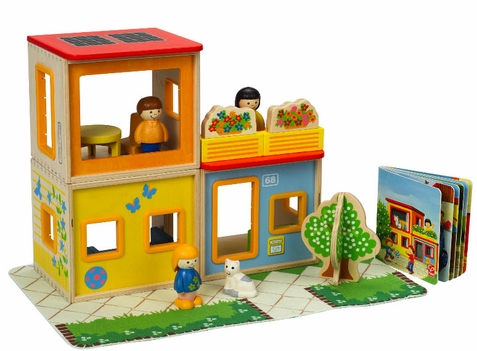 Hape City Family Play Set