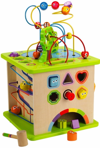 Country Critters Play Cube - Free Shipping