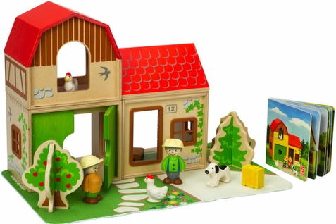 Hape Farm Family Play Set - Free Shipping