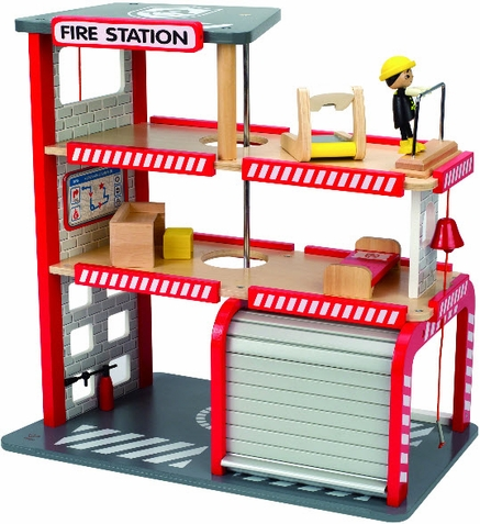 Hape Fire Station Play Set