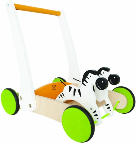 Galloping Zebra Cart - Free Shipping