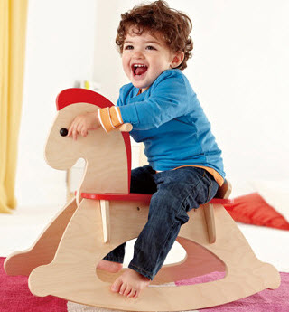Hape Rock and Ride Rocking Horse - Free Shipping