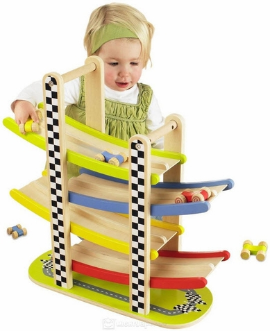 Hape Switchback Racetrack - Free Shipping