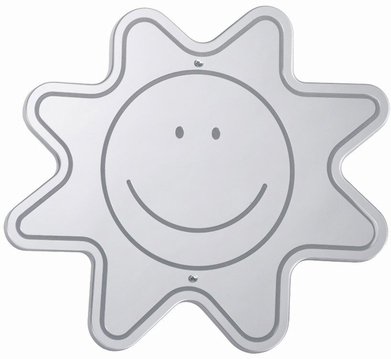 Whitney Brothers Happy Face Mirror