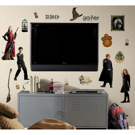 Harry Potter & Friends Peel & Stick Wall Decals