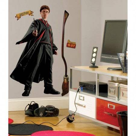 Harry Potter Peel & Stick Giant Wall Decal