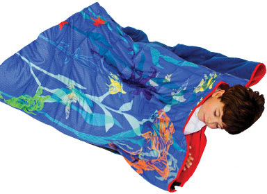 Heavy Sleeper Weighted Sleeping Bag Graphic Sea