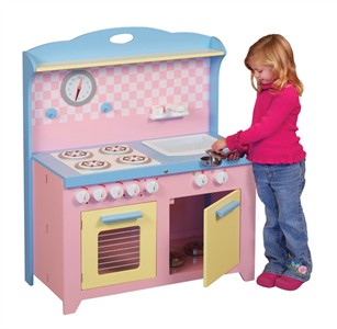 Hideaway Playtime Folding Kitchen