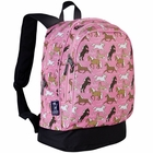 Horses in Pink Backpack - Free Shipping