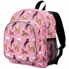 Horses in Pink Pack 'n Snack Backpack - Free Shipping