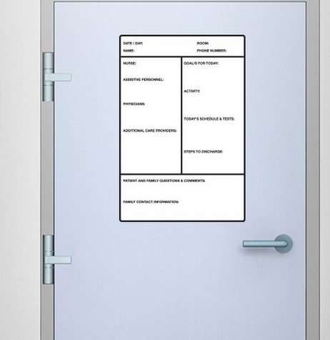 "Fathead ""In Patient"" Medium Dry Erase Board Decal"