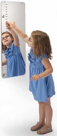 How Tall Am I? Mirror - Free Shipping
