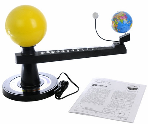 Illuminated Orbitor - Earth Orbit Science Model