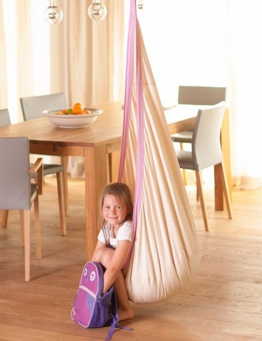 Joki Piggy Organic Hanging Crow's Nest Swing - Free Shipping
