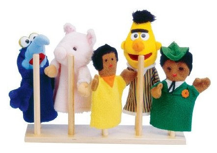 Jonti-Craft 10 Peg Puppet Stand
