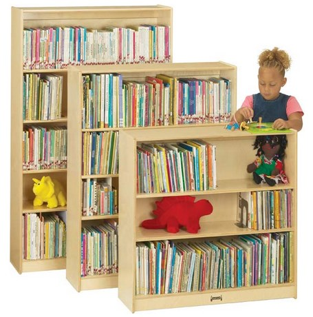 Jonti-Craft Classic Wooden Bookcase - 3 Sizes Available