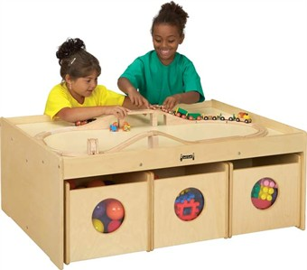 Jonti-Craft Classroom Activity Table with Bins