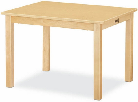 "Jonti-Craft Multi-Purpose Rectangle Table 24"" x 30"""