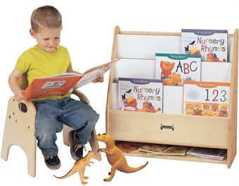 Jonti-Craft Toddler Pick-a-Book Stand - Free Shipping