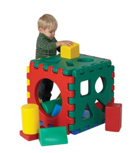 Jr. Snap Cube w/ Set of 16 Blocks
