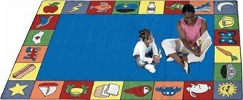 Jump Start Educational Rug 5'4 x 7'8