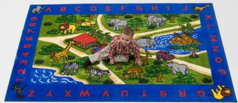Jungle Adventure Classroom Rug