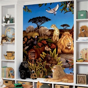 Jungle Animals XL Mural