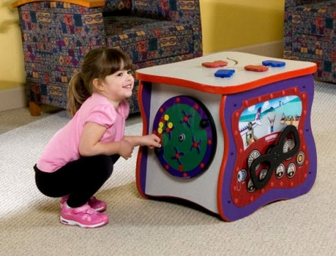 Junior Play Oasis Learning Cube