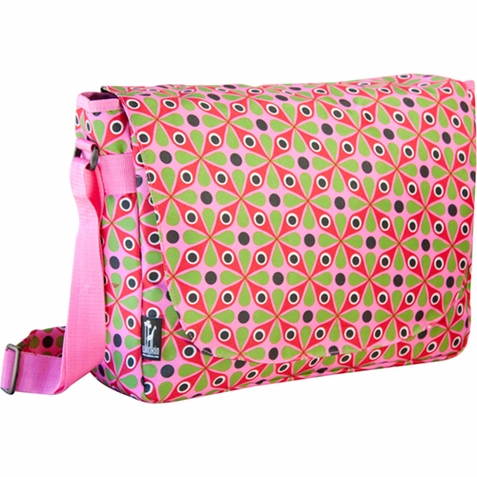 Kaleidoscope Kids Laptop Messenger Bag