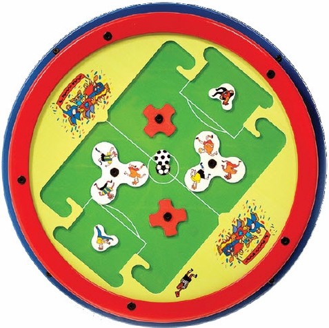 Keebee Soccer Round Activity Wall Toy