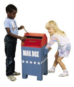 Kid's Corrugated Mailbox