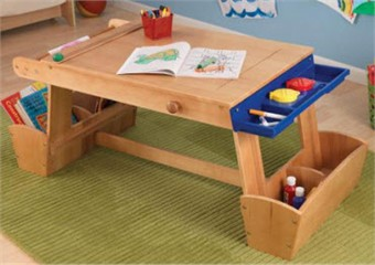 KidKraft Art Table with Drying Rack & Storage - Out of Stock