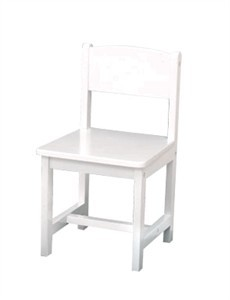 KidKraft Aspen Chair in White - Out of Stock