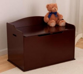 KidKraft Austin Toy Box in Cherry - Out of Stock