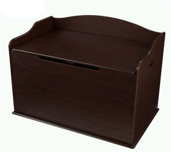 KidKraft Austin Toy Box in Espresso - Out of Stock