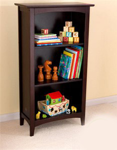 KidKraft Avalon Tall Bookshelf in Espresso - Out of Stock